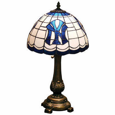 New York Yankees Stained Glass Table Lamp