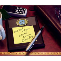 North Carolina Tar Heels Desk Memo Pad Paper Holder