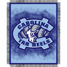 North Carolina Tar Heels Triple Woven Jacquard Throw