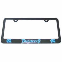 North Carolina Tarheels Tag License Plate Frame