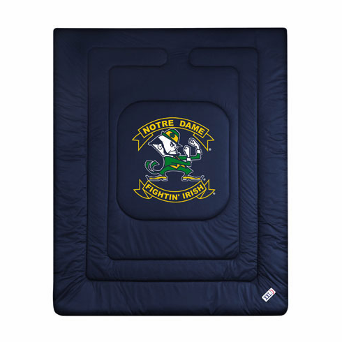 "Notre Dame Fighting Irish ""Locker Room Collection"" Bed Comforter"