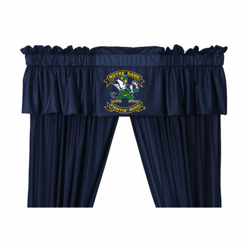 "Notre Dame Fighting Irish ""Locker Room Collection"" Valance"