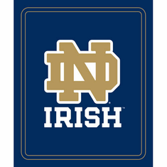 Notre Dame Fighting Irish Light Weight Fleece Blanket