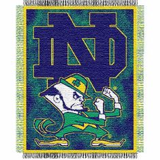 Notre Dame Fighting Irish Triple Woven Jacquard Throw