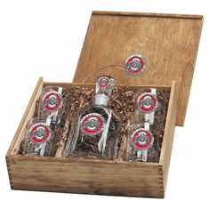 Ohio State Buckeyes Capital Decanter Box Set