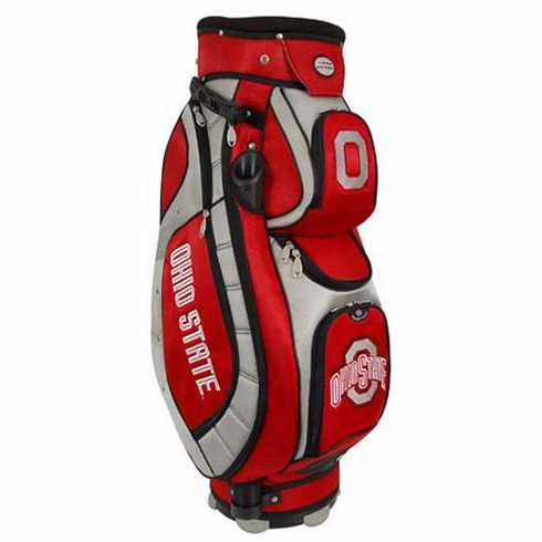Ohio State Buckeyes Lettermans Club II Cooler Cart Bag - BACKORDERED