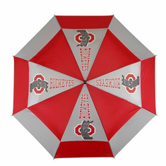Ohio State Buckeyes WindSheer II Auto-Open Umbrella