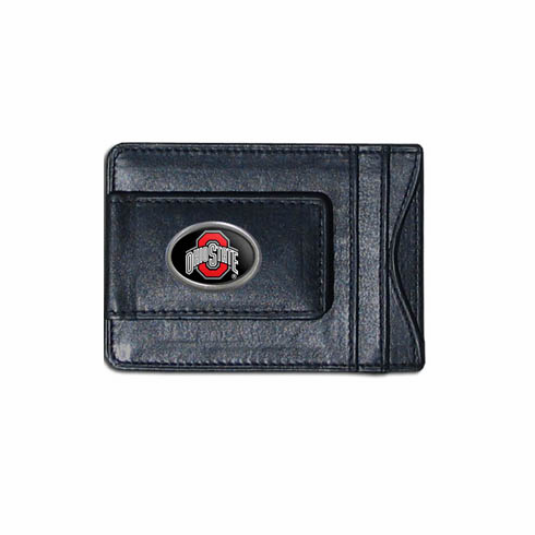 Ohio State Leather Cash and Card Holder - BACKORDERED