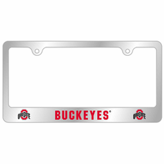 Ohio State Tag License Plate Frame