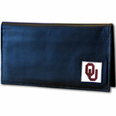 Oklahoma Leather Checkbook Cover
