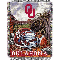 Oklahoma Sooners Home Field Advantage Throw