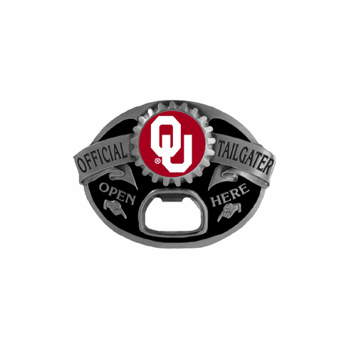 Oklahoma Sooners Tailgater™ Buckle - BACKORDERED