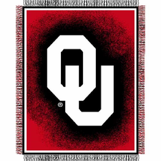 Oklahoma Sooners Triple Woven Jacquard Throw
