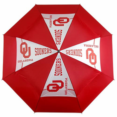 Oklahoma Sooners WindSheer II Auto-Open Umbrella - BACKORDERED