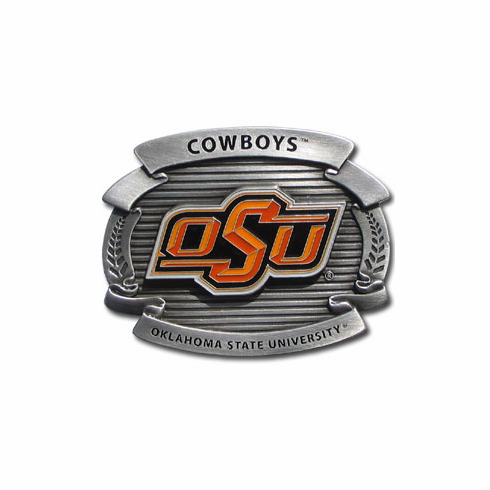 Oklahoma State Cowboys Oversized Belt Buckle