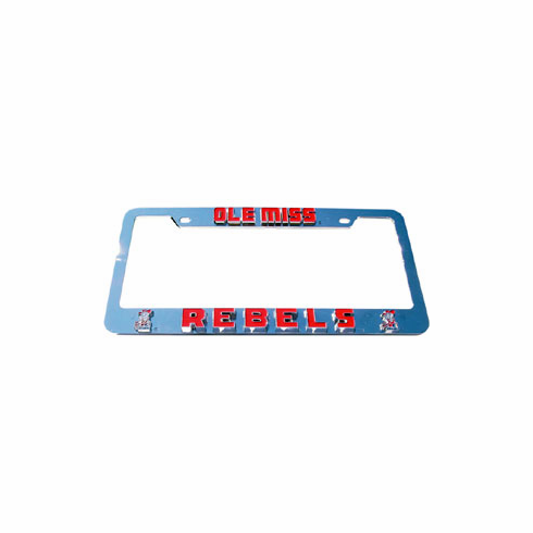 Ole Miss License Plate Frame