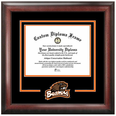 Oregon State University Spirit Diploma Frame