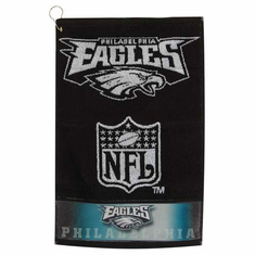 Philadelphia Eagles Heavyweight Jacquard Golf Towel