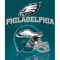Philadelphia Eagles Light Weight Fleece Blanket - BACKORDERED