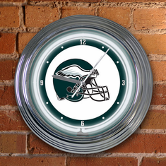 Philadelphia Eagles Neon Clock