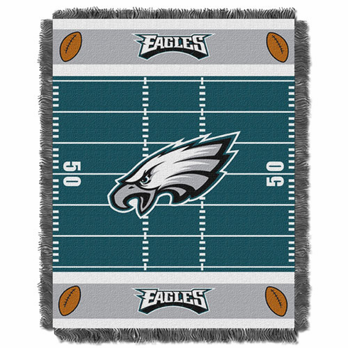Philadelphia Eagles Triple Woven Jacquard Baby Throw