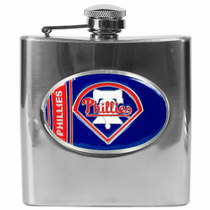 Philadelphia Phillies 6oz Stainless Steel Flask