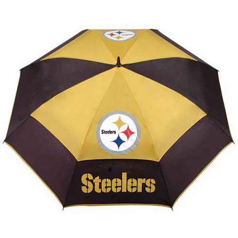 Pittsburgh Steelers Auto-Open WindSheer II Umbrella - BACKORDERED