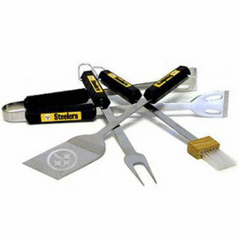 Pittsburgh Steelers BBQ Grill Utensil Set - BACKORDERED
