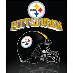 Pittsburgh Steelers Light Weight Fleece Blanket - BACKORDERED