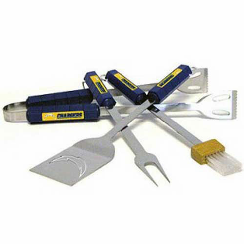 San Diego Chargers BBQ Grill Utensil Set - BACKORDERED