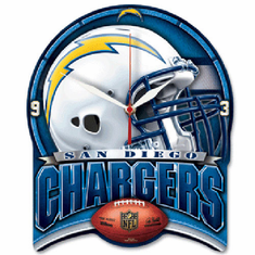 San Diego Chargers High Definition Clock