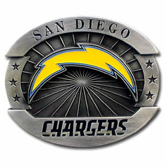 San Diego Chargers Oversized Belt Buckle