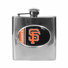 San Francisco Giant 6oz Stainless Steel Flask