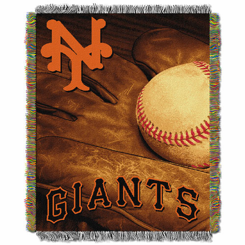 San Francisco Giants Triple Woven Vintage Series Jacquard Throw
