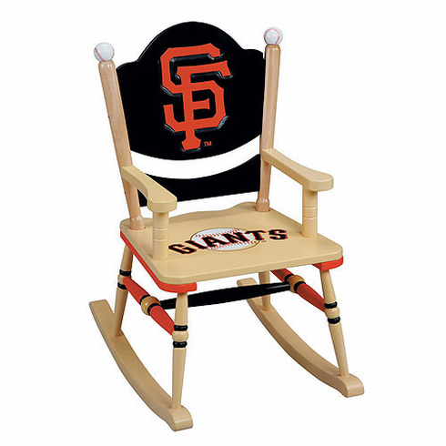 San Francisco Giants Wooden Rocking Chair