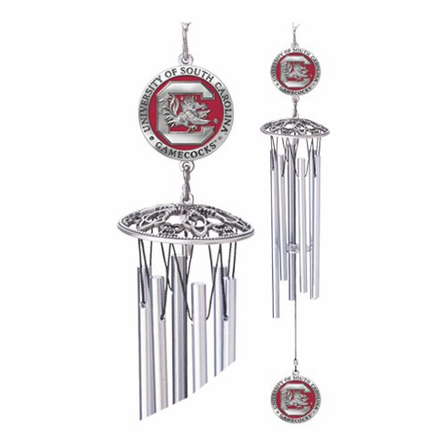 South Carolina Gamecocks Windchime