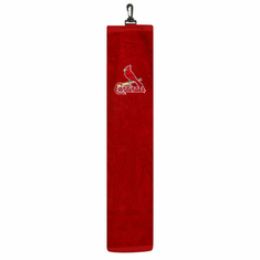 St. Louis Cardinals Embroidered Tri-Fold Golf Towel