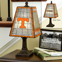 Tennessee Volunteers Art Glass Table Lamp