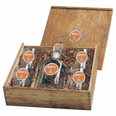 Tennessee Volunteers Capital Decanter Box Set
