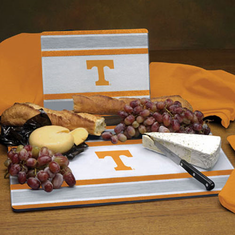 Tennessee Volunteers Glass Cutting Board Set - BACKORDERED