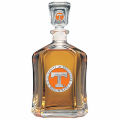 Tennessee Volunteers Glass Decanter