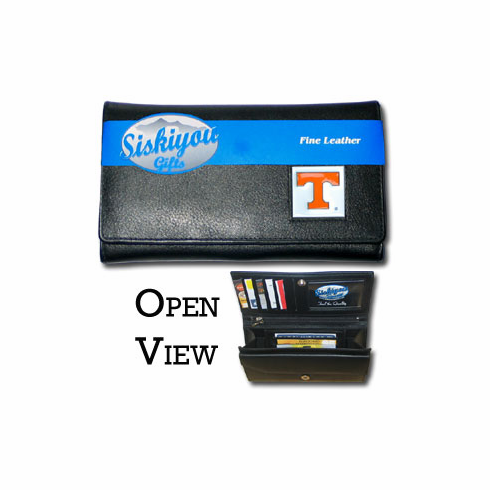 Tennessee Volunteers Leather Ladies Wallet - BACKORDERED