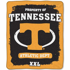 Tennessee Volunteers Property of Raschel Blanket
