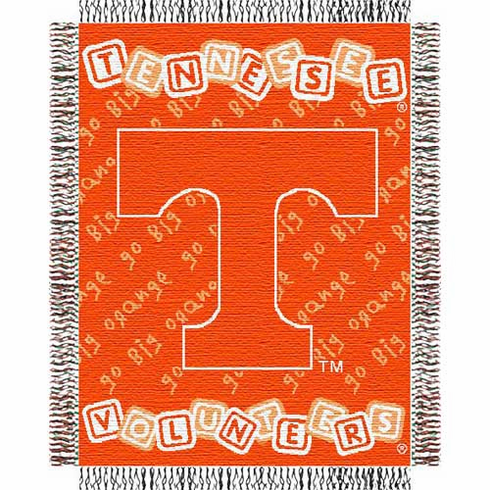 Tennessee Volunteers Triple Woven Jacquard Baby Throw