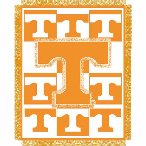 Tennessee Volunteers Triple Woven Jacquard Throw