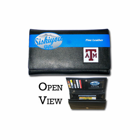 Texas A&M Aggies Leather Ladies Wallet