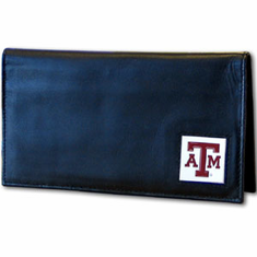 Texas A&M Leather Checkbook Cover