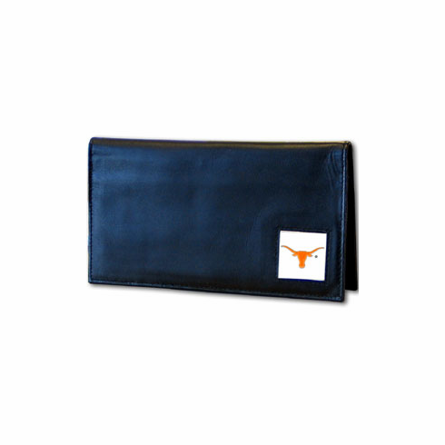 Texas Leather Checkbook Cover - BACKORDERED