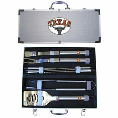 Texas Longhorns 8pc BBQ Set - BACKORDERED