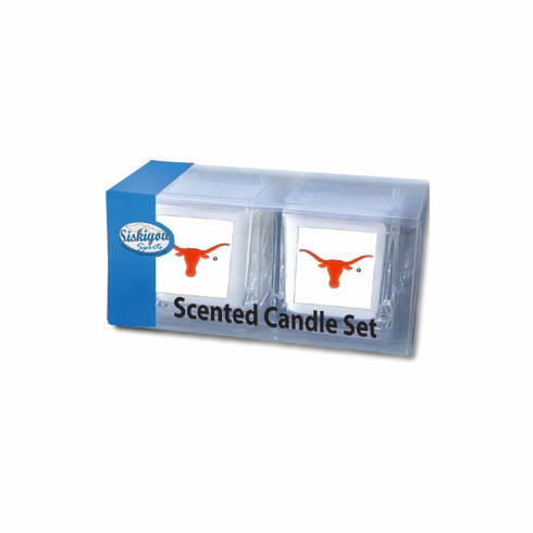 Texas Longhorns Candle Set